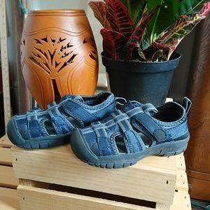 Baby Gab Boy's Sandals Navy Blue